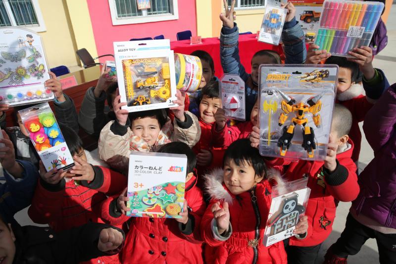 库尔班基金捐助乡村幼儿园 倾情播撒民族团结的种子
