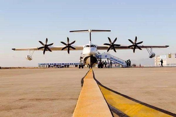 现场图来啦!我国自研水陆大飞机AG600首飞成功 新湖南www.hunanabc.com