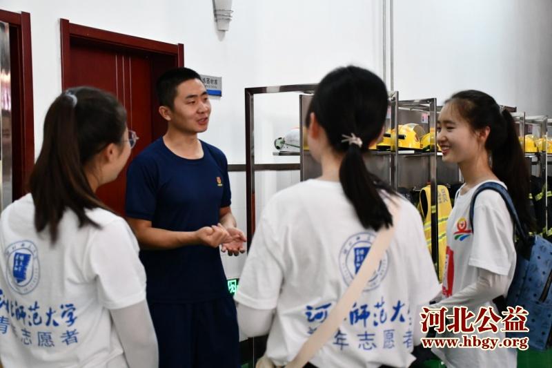 """""""百乡千村万里行""""实践队队员专访消防战士闫晨"""