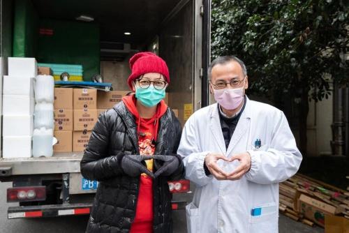 通用磨坊向上海治疫定点医院捐赠食品物资,暖心元宵共度圆满佳节