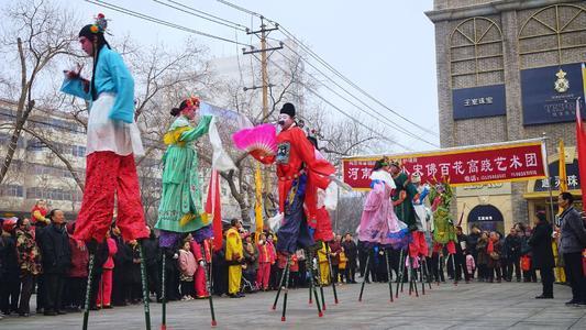 """小宋佛高跷――""""高人一等""""的民间舞蹈"""